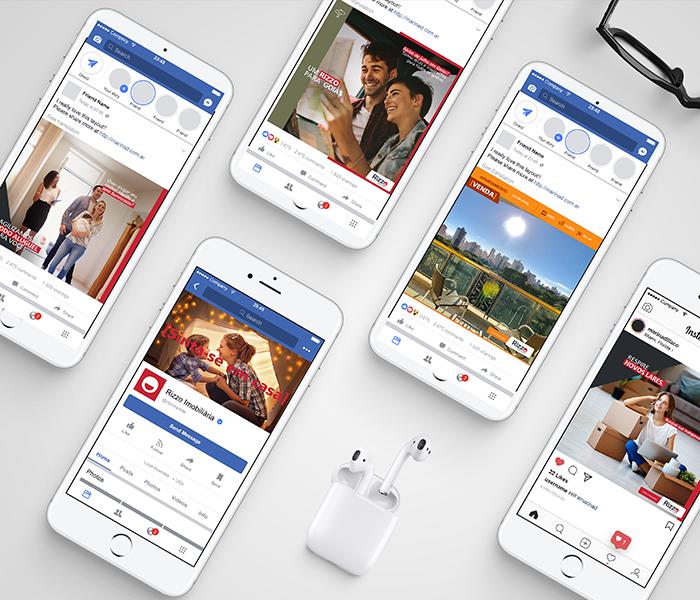 Rizzo Social Media Redesign